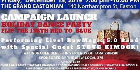 Campaign Launch & Holiday Dance Party tickets