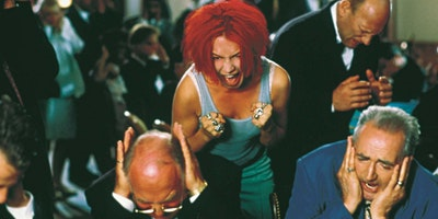 35mm Screening of hyper German classic RUN LOLA RUN