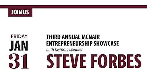 Third Annual McNair Entrepreneurship Showcase