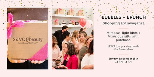 Bubbles + Brunch // Holiday Gifting Extravaganza!