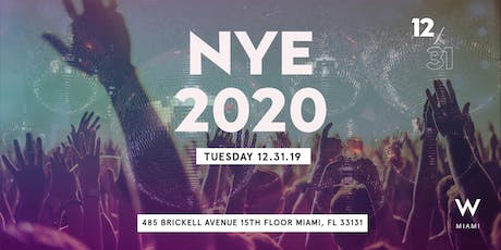 New Year's Eve - W Miami tickets
