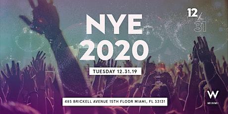New Year's Eve - W Miami tickets