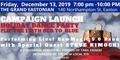 Campaign Launch and Holiday Dance Party