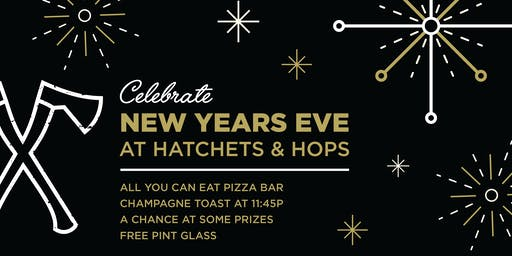 New Years Eve at Hatchets and Hops