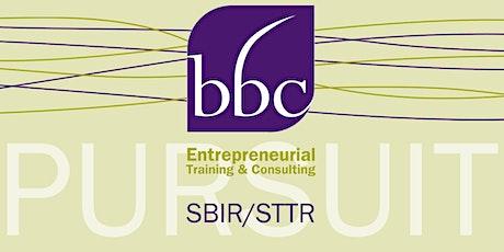 SBIR/STTR Proposal Prep for NIH tickets