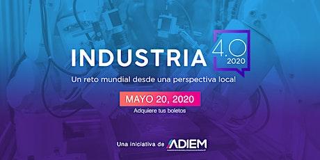 Industria 4.0 - Transformación Digital boletos