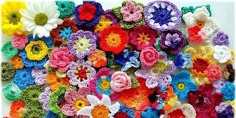 Crochet Flowers Workshop tickets