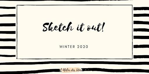 Sketch it out! - de 2 wekelijkse Creatieve Retraite die je goed doet