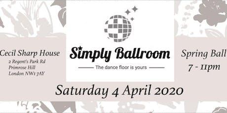 Simply Ballroom Spring Ball 2020 tickets