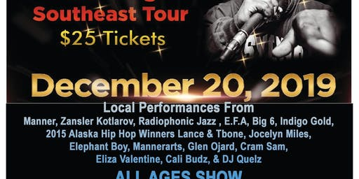 Killah Priest of Wu Tang Southeast Tour