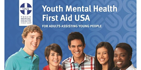 Youth Mental Health First Aid - A course for Adults who work with Youth. tickets