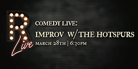 Comedy Live! Improv with The Hotspurs tickets