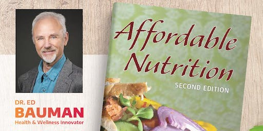 Affordable Nutrition Book Launch + Workshop
