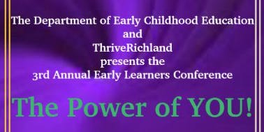 Early Learner's Conference