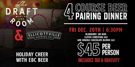 Holiday Cheer With EBC Beer tickets