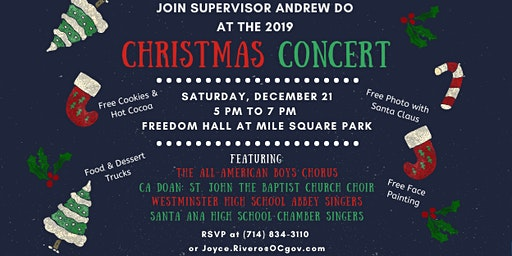 Christmas Concert at Mile Square Park