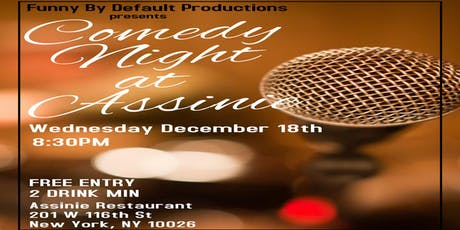 Comedy Night at Assinie tickets