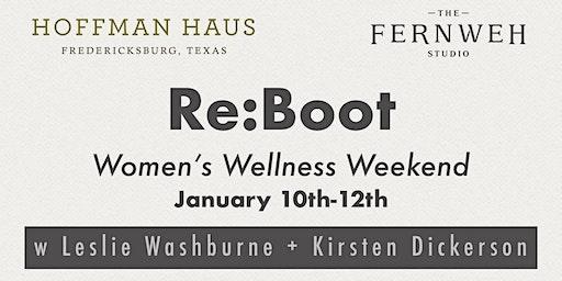 RE:BOOT Women's Wellness Weekend w Leslie Washburne + Kirsten Dickerson