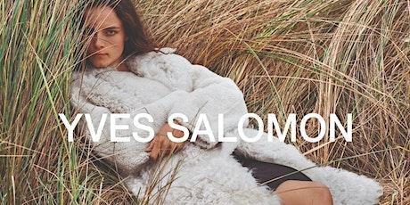 Yves Salomon Sample Sale tickets