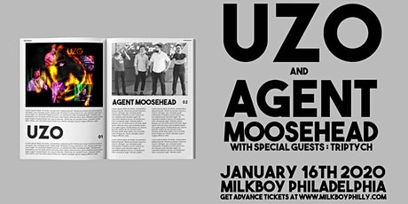 UZO + Agent Moosehead tickets