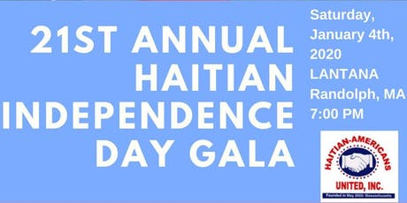 21st Annual Haitian Independence Day Gala tickets