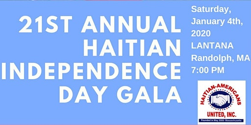 21st Annual Haitian Independence Day Gala