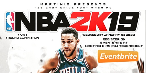 MARTINIS 2K19 PS4 TOURNAMENT
