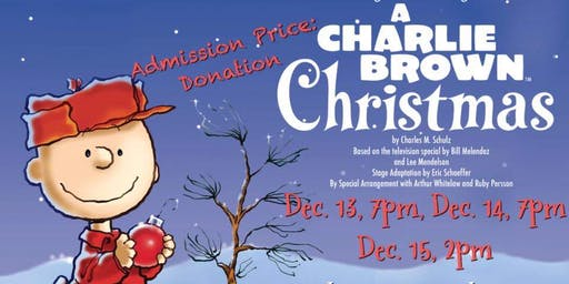 Jackson County Radio Players - Charlie Brown Christmas Sunday