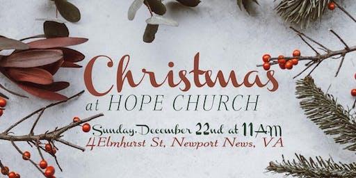 Christmas at Hope Church