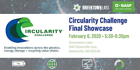 Greentown Labs Circularity Challenge Final Showcase tickets