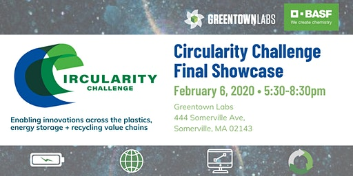 Greentown Labs Circularity Challenge Final Showcase