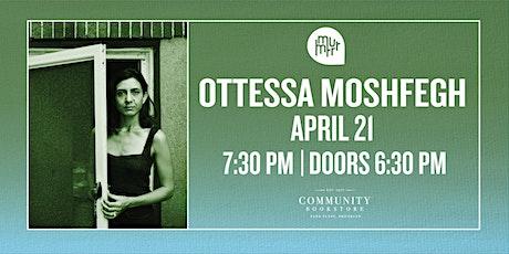 Ottessa Moshfegh tickets