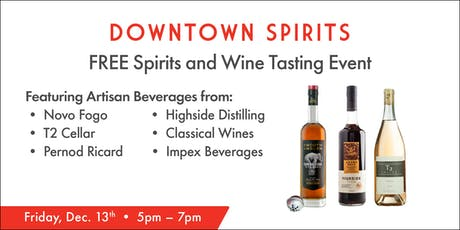 Spirits & Wine Tasting Event tickets