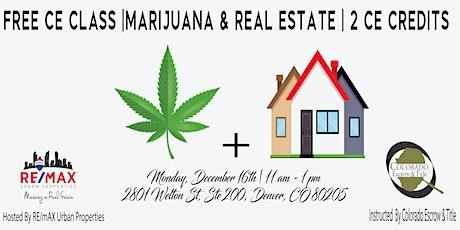 Marijuana in RE tickets