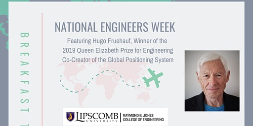 E-Week Breakfast w/ Lipscomb Engineering and Hugo Fruehauf