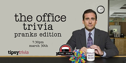 The Office Trivia - March 30, 7:30pm - YEG The Pint Downtown