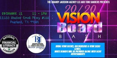 20/20 Vision Board Bash tickets