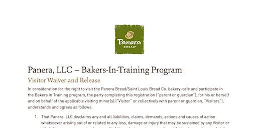 Panera Bread Bakers in Training