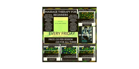Vestibular & Proprioceptive Massage Therapy For Beginners tickets
