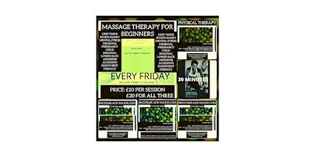 Vestibular & Proprioceptive Massage Therapy For Beginners tickets