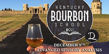 Bourbon Sensory Analysis II: Advanced Bourbon Sensory Analysis • DEC 9 • KY Bourbon School @ The Kentucky Castle tickets