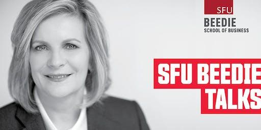 SFU Beedie Talks with Sandra Stuart: President and CEO, HSBC Bank Canada