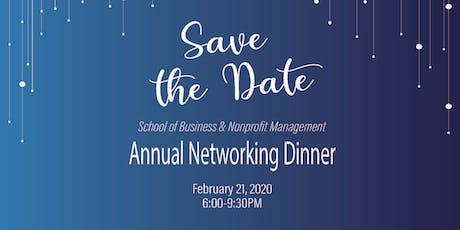 2020 SBNM Annual Networking Dinner tickets