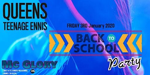 Queens Teen Back to School Party