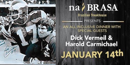 Celebrity Dinner: Dick Vermeil & Harold Carmichael