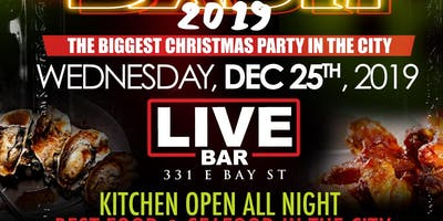 CHRISTMAS NIGHT @ LIVE BAR ( OFFICIAL CHRISTMAS PARTY )