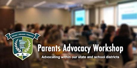 Parents Advocacy Workshop tickets