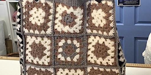 Crochet Intermediate - £35 - Joining Granny Squares