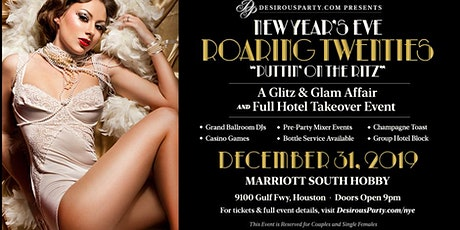 NYE 2020- Roaring 20's- Puttin' on the Ritz tickets