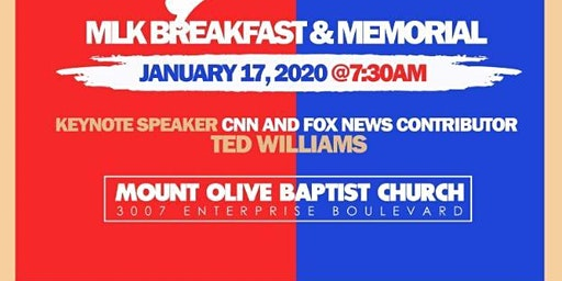 MLK SWLA Festival 2020  - 36th Annual Breakfast and Family Day -